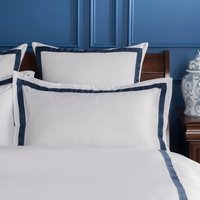 Dorma Maddison Navy Oxford Pillowcase Navy
