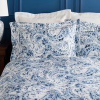 Dorma Vermont Blue Oxford Pillowcase Blue