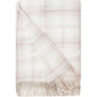 Dusk Checked Throw Coral (Pink)