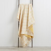 Harrison Ochre Throw Ochre