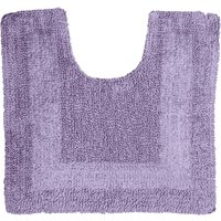 Super Soft Reversible Pedestal Mat Lavender (Purple)