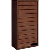 Dunelm Marseille Acacia Slatted Wall Unit Wood
