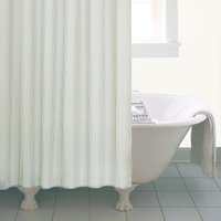 Natural Skinny Stripe Shower Curtain Natural