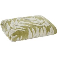 Green Leaves Towel Green
