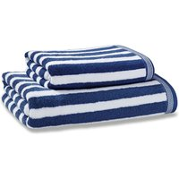 Nautical Stripe Navy Towel Navy (Blue)