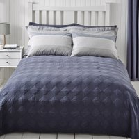 Washed Indigo Bedspread Washed Indigo Blue