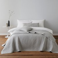 Pebble Grey Square Cushion Grey