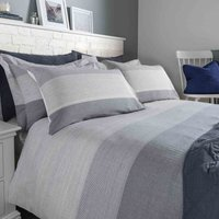 Wentworth Blue Duvet Cover and Pillowcase Set Blue