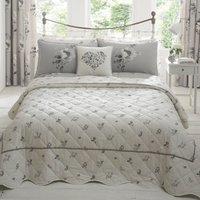 Liana Grey Bedspread Grey