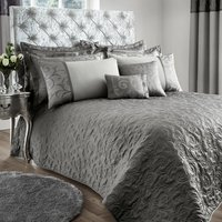 Lucia Silver Bedspread Silver