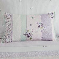 Hidcote Boudoir Cushion White / Purple