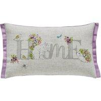 Floral Home Cushion Lilac (Purple)
