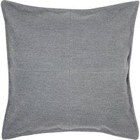 Large Grey Patchwork Felt Cushion Grey