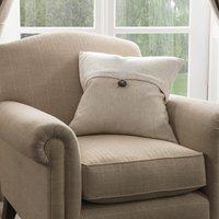 Dorma Chatsworth Linen Cushion Linen