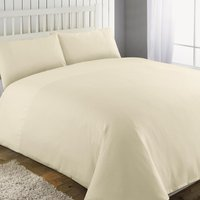 Waffle Cream Duvet Cover and Pillowcase Set Cream