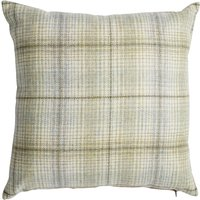 Devon Green Check Cushion Green