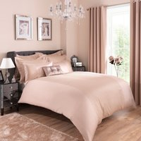 Adele Jacquard Champagne Duvet Cover and Pillowcase Set Champagne (Gold)