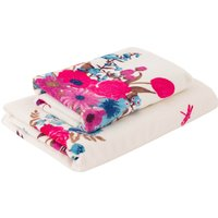 Flora & Fauna Towel Purple / Blue / White