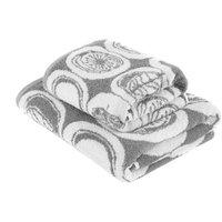 Elements Grey Jacquard Towel Grey