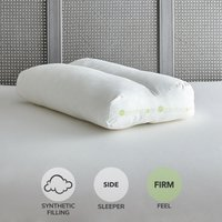 Comfortzone Contour Pillow White