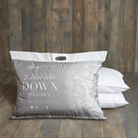 Fogarty Just Like Down Pillow Pair White