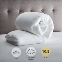 Fogarty Superfull 10.5 Tog Duvet White