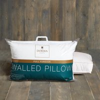 Dorma Full Forever Walled Pillow White