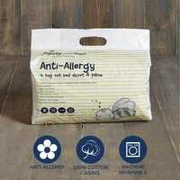 Fogarty Little Sleepers Anti Allergy 4 Tog Cot Bed Duvet and Pillow Set White