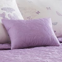 Spray Butterfly Purple Bedspread Purple