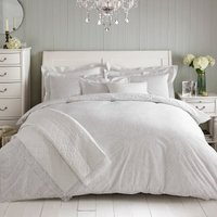Holly Willoughby Paisley Natural 100% Cotton Reversible Duvet Cover Natural