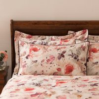 Dorma Sophia Housewife Pillowcase Light Pink/Red