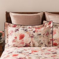 Dorma Sophia Oxford Pillowcase Light Pink/Red