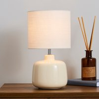 Dunelm lamps tables lamps desk lamps for sale at dunelm oslo small cream ceramic table lamp cream mozeypictures Choice Image