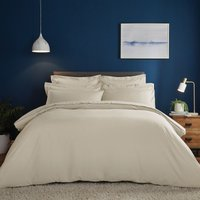 Fogarty Soft Touch Natural Duvet Cover and Pillowcase Set Natural