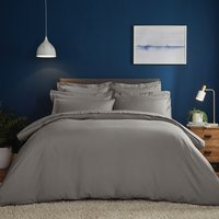 Fogarty Soft Touch Slate Duvet Cover and Pillowcase Set Slate (Grey)