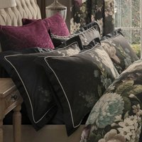 Dorma Burford Plum Continental Pillowcase Plum (Purple)