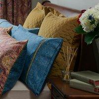 Dorma Merton Continental Pillowcase Ochre (Yellow)