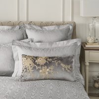 Dorma Abbotsbury Pewter Cushion Pewter (Grey)