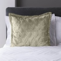 5A Fifth Avenue Chrysler Champagne Continental Pillowcase Champagne (Gold)