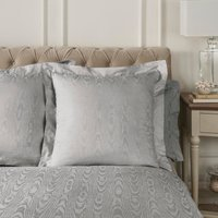 Dorma Juliette Grey Continental Pillowcase Grey