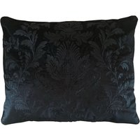Dorma Blenheim Black Jacquard Cushion Black
