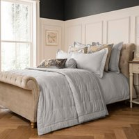 Dorma Juliette Grey Bedspread Grey