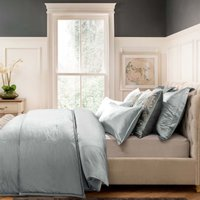 Dorma Camberly Pewter Bedspread Pewter (Grey)