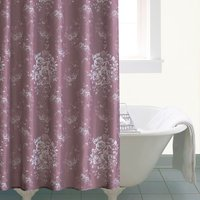 Laura Mauve Shower Curtain Mauve (Purple)