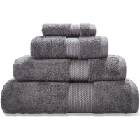 Dorma Graphite Silk Towel Graphite (Grey)