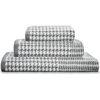 Dorma Kensington Charcoal Towel Charcoal (Grey)