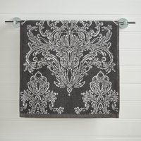 Versailles Charcoal Towel Charcoal (Grey)