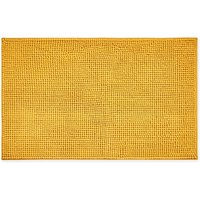 Elements Mini Bobble Ochre Bath Mat Yellow Ochre (Brown)