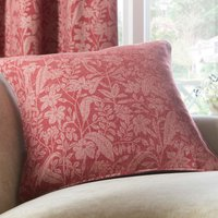 Red Wildflower Cushion Red