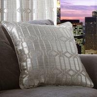 5A Fifth Avenue Lexington Geo Silver Cushion Silver